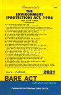 Environment (Protection) Act, 1986 with Rules (as amended in 2017)
