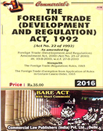 Foreign Trade (Devel. and Reg.) Act, 1992 alongwith Rules & Order (as amended in 2010)