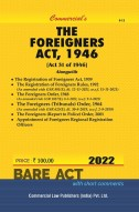 Foreigners Act, 1946 alongwith Foreigners Orders, 1948
