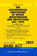 Geographical Indications of Goods (R&P) Act, 1999 with Rules, 2002