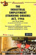 Industrial Employment (SO) Act, 1946 with Rules