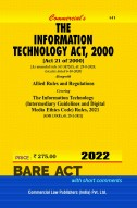 Information Technology Act, 2000 with Allied Rules & Regulations (As amended in 2018)