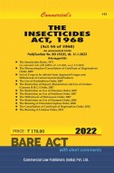 Insecticides Act, 1968 with Rules (as amended in 2014)
