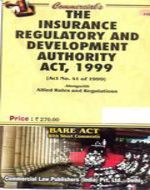 Insurance Regulatory and Dev. Auth. Act, 1999 with Rules & Regs.