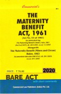 Maternity Benefit Act, 1961 alongwith Rules, 1963
