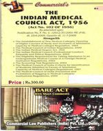 Medical Council Act, 1956 alongwith Regulations (as amended in 2009)