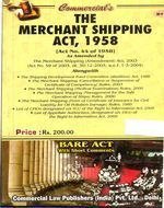 Merchant Shipping Act, 1958 alongwith allied Rules