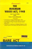 Minimum Wages Act, 1948 with Central Rules, 1950
