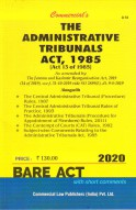 Administrative Tribunals Act, 1985 alongwith Allied Rules