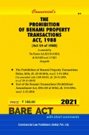 Benami Transactions (Prohibition) Act, 1988  The Jammu & Kashmir Reorganisation Act, 2019