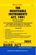 Negotiable Instruments Act, 1881...