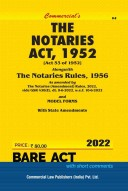 Notaries Act, 1952 with Rules (as amended in 2018)