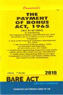 Payment of Bonus Act, 1965 alongwith Rules, 1975