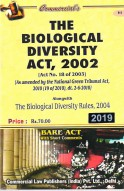 Biological Diversity Act, 2002 alongwith Rules