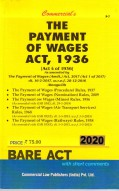 Payment of Wages Act, 1936 alongwith allied Rules (as amended in 2010)