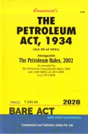 Petroleum Act, 1934 alongwith Rules, 2002