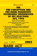 Pre-conception and Pre-Natal Diagnostic Techniques.........Act, 1994 with Rules