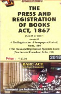 Press and Registration of Books Act, 1867 alongwith Rules & Order