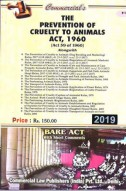 Prevention of Cruelty to Animals Act, 1960 alongwith Rules
