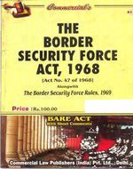 Border Security Force Act, 1968 alongwith Rules, 1969