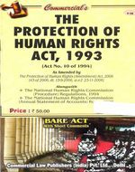 Protection of Human Rights Act, 1993 with Nat. Human Rights Comm. (Pro.) Reg., 1994