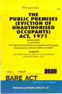 Public Premises (Eviction of Unauthorised Occupants) Act, 1971 alongwith Rules, 1971