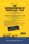 Representation of the People Act, 1951 and Representation of the People Act, 1950 alongwith allied Rules (as amended in 2014)