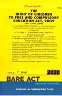 Right of Children to Free and Compulsory Education Act, 2009 alongwith Rules, 2010