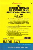 Scheduled Castes and Scheduled Tribes (Prevention of Atrocities) Act, 1989 with Rules  (as amended in 2018)