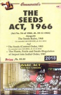 The Seeds Act, 1966 with Rules, 1968