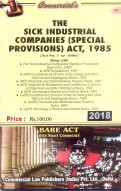 Sick Industrial Companies (Special Provisions) Act, 1985 with Rules