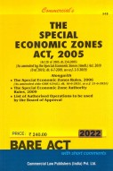 Special Economic Zones Act, 2005 with Rules, 2006 (as amended in 2013)