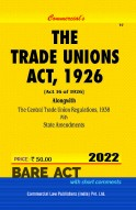 Trade Unions Act, 1926 alongwith Central Regulations, 1938