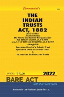 Trusts Act, 1882 alongwith Specimen Trust Deeds