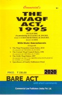 Wakf Act, 1995 alongwith Central Wakf Council Rules, 1998 (as amended in 2013)