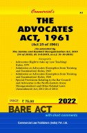 overview of advocate act 1961 The advocates act, 1961 act no 25 of 1961 [19th may, 1961] an act to amend and consolidate the law relating to the legal practitioners and to provide for the constitution of bar councils and an all-india bar.