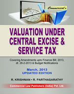 Valuation under Central Excise & Service Tax