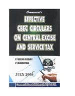 Effective CBEC Circulars on Central Excsie & Service Tax