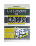 Law& Pracitce  on Dividend