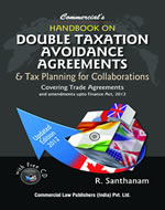 Handbook on Double Taxation Avoidance Agreement & Tax Planning for Collaborations