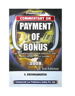 Commentary on Payment of Bonus