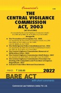 Central Vigilance Commission Act, 2003 alongwith Allied Acts