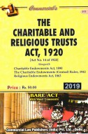 Charitable and Religious Trusts Act, 1920 alongwith Charitable Endowments Act, 1890 and Religious Endowments Act, 1863