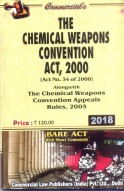 Chemical Weapons Convention Act, 2000 alongwith Chemical Weapons Convention Appeals Rules, 2005