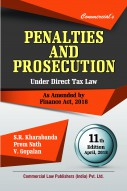 PENALTIES AND PROSECUTION  under Direct Tax Law