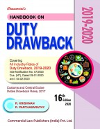 Duty Drawback 2017-2018