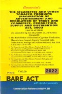 Cigarettes and Other Tobacco.....Act, 2003 alongwith Rules, 2004 (as amended in 2009)