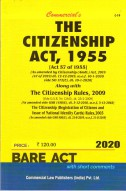 Citizenship Act, 1955 with Rules, 2009