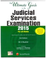 The Ultimate Guide to the Judicial Services Examination  2015