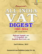 All India VAT Digest  (1985 -2014)  with Judicial Review (Set of 4 vols.)